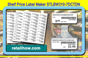 Shelf Price Label Maker STLBW310-7DCTDN