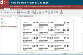 How to Use Price Tag Maker