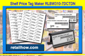 Shelf Price Tag Maker RLBW310-7DCTDN