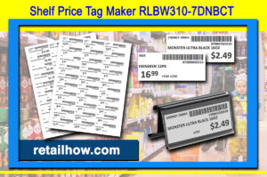 Shelf Price Tag Maker RLBW310-7DNBCT