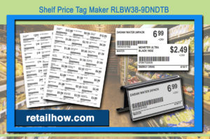 Shelf Price Tag Maker RLBW38-9DNDTB