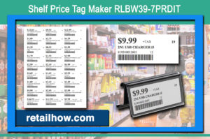 Shelf Price Tag Maker RLBW39-7PRDIT
