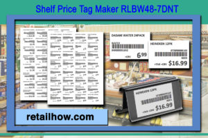 Shelf Price Tag Maker RLBW48-7DCT
