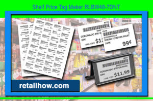 Shelf Price Tag Maker RLBW48-7DNT