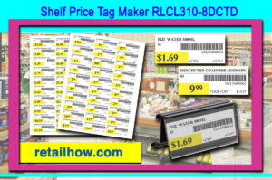 Shelf Price Tag Maker RLCL310-8DCTD