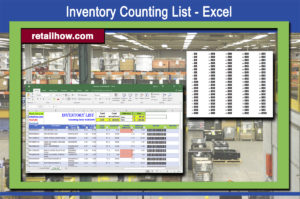Inventory Counting List